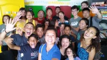 2015-07-17 Group Pic with Serbian Youth Center